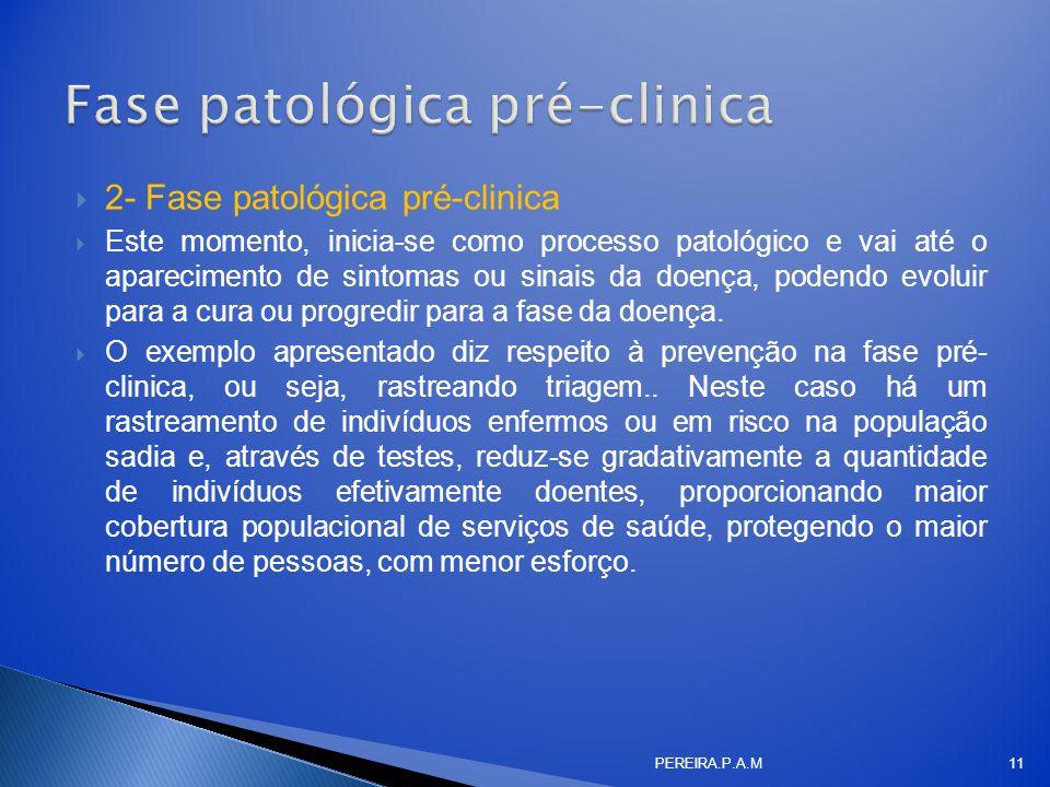 Fase patológica pré-clinica