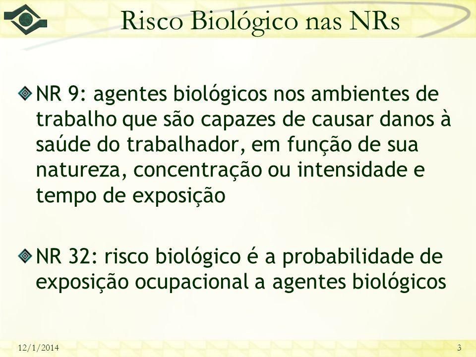 Risco Biológico nas NRs