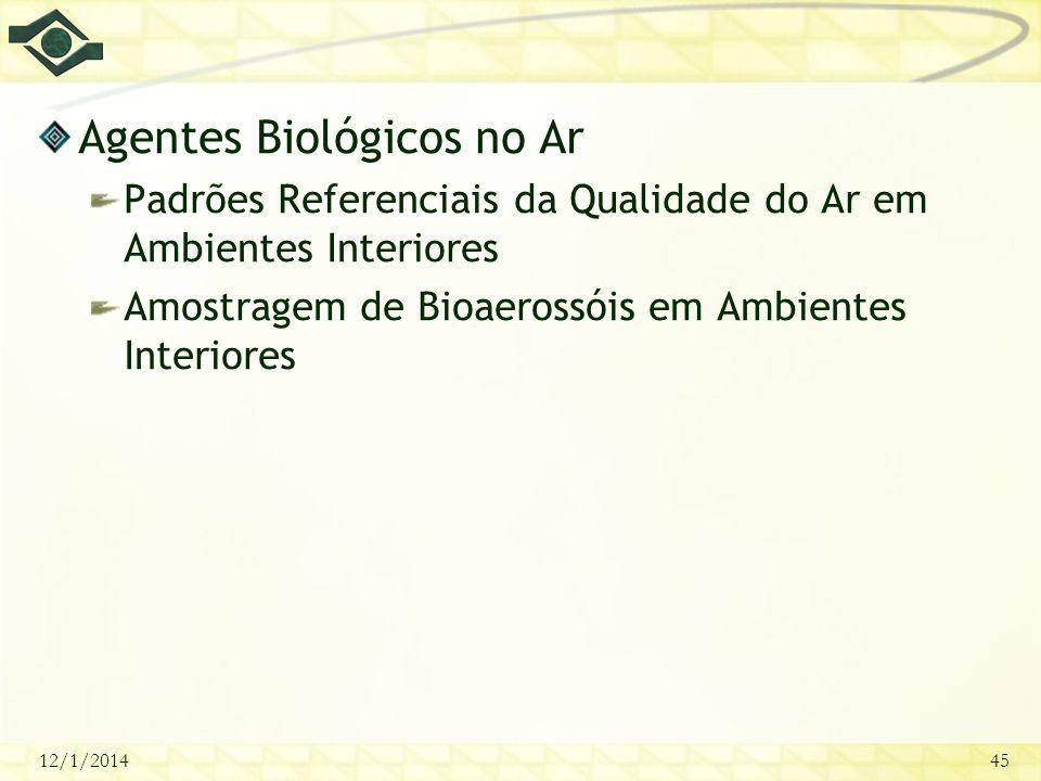Agentes Biológicos no Ar