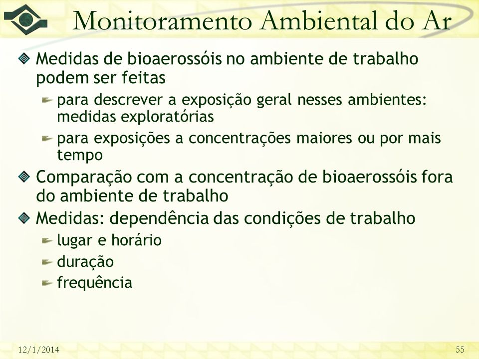 Monitoramento Ambiental do Ar