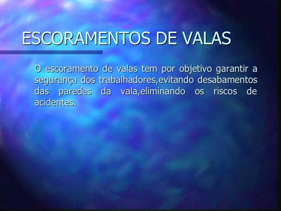 ESCORAMENTOS DE VALAS