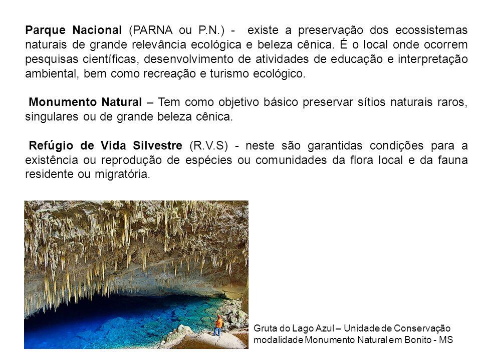 Parque Nacional (PARNA ou P. N