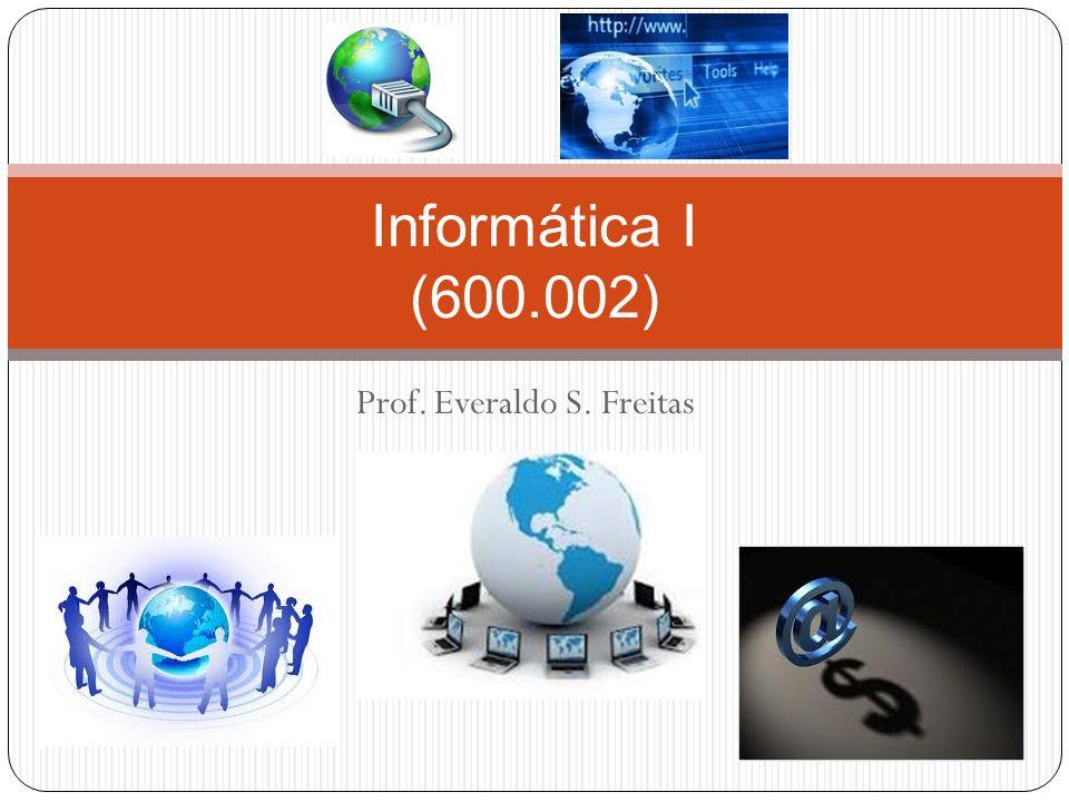 Prof. Everaldo S. Freitas