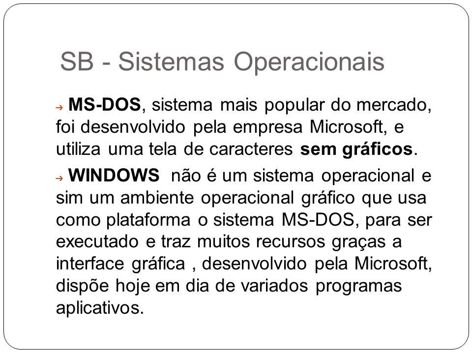 SB - Sistemas Operacionais