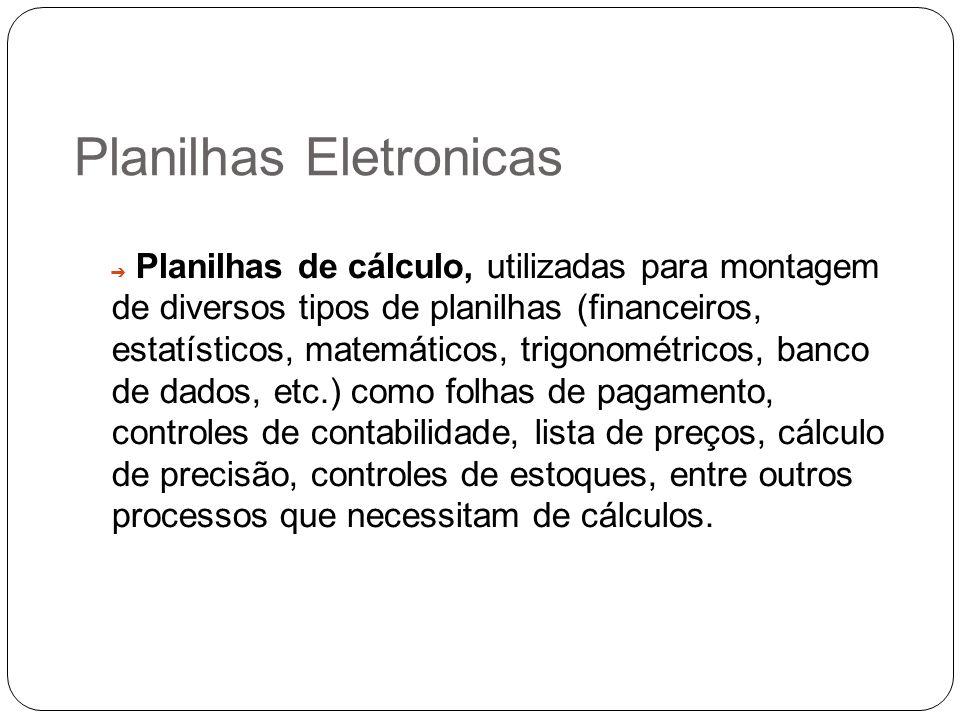 Planilhas Eletronicas