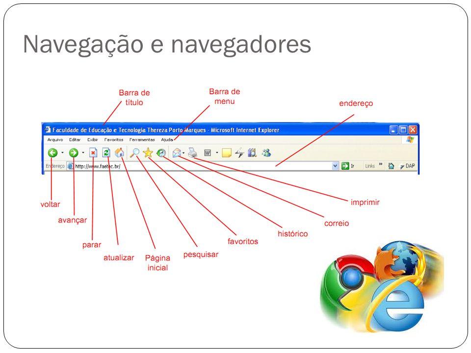Navegação e navegadores