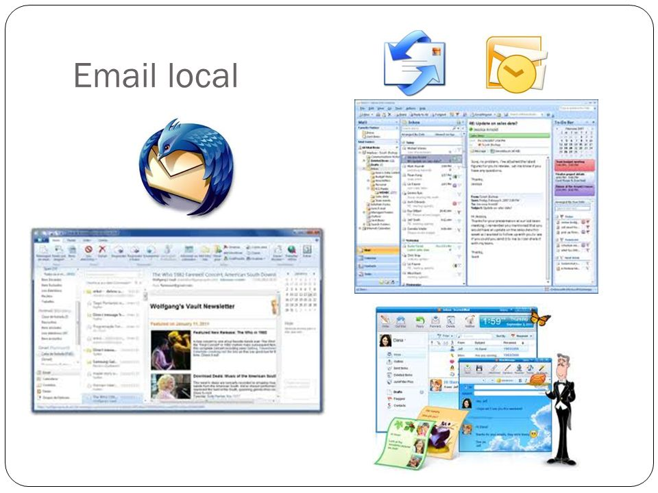 Email local