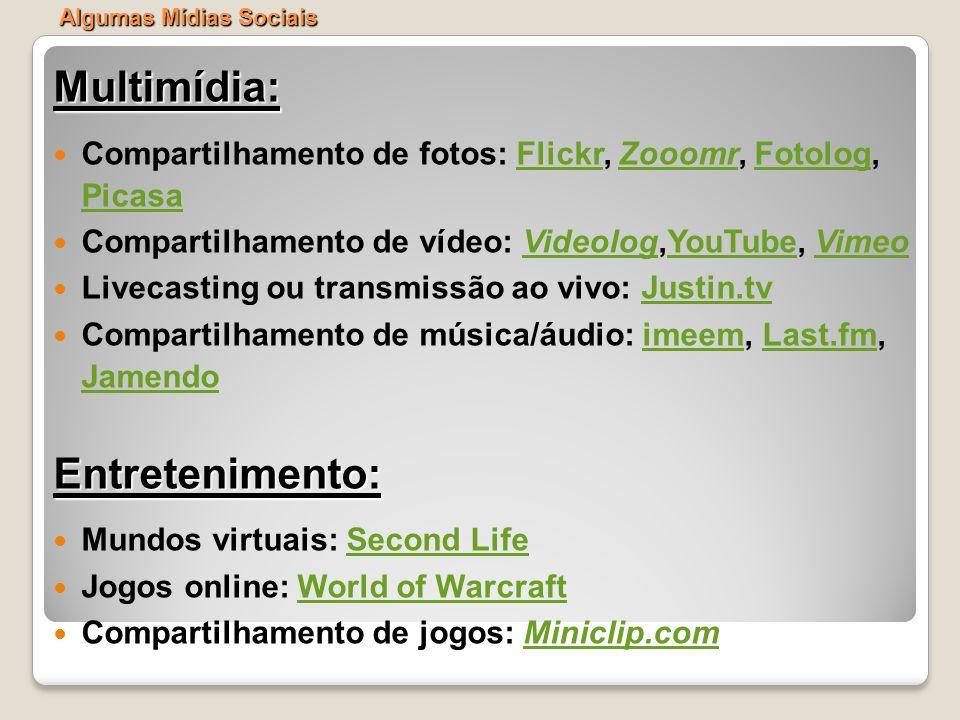 Multimídia: Entretenimento: