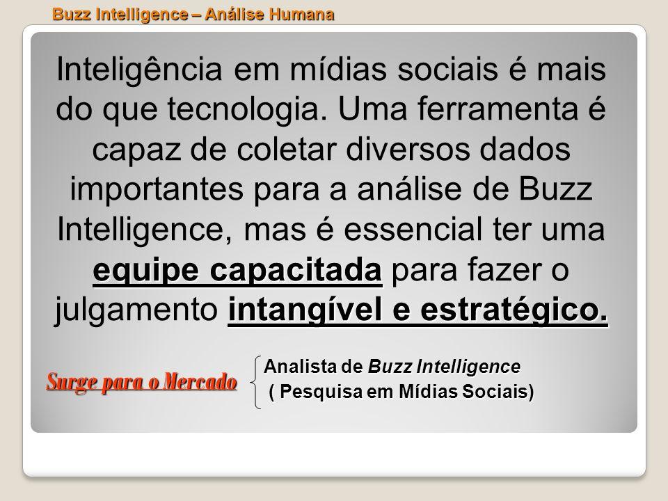 Buzz Intelligence – Análise Humana