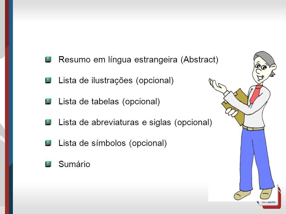 Resumo em língua estrangeira (Abstract)
