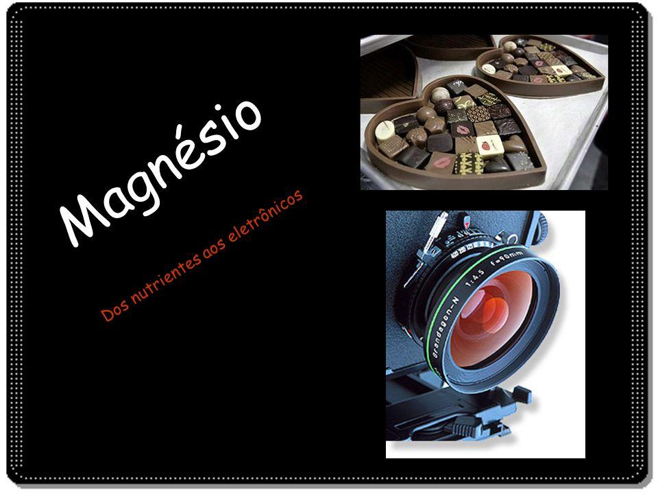 Magnésio Dos nutrientes aos eletrônicos