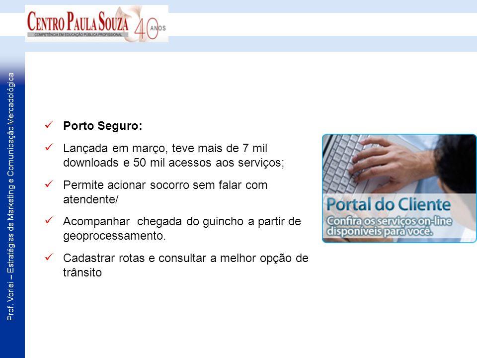 Porto Seguro: Lançada em março, teve mais de 7 mil downloads e 50 mil acessos aos serviços; Permite acionar socorro sem falar com atendente/