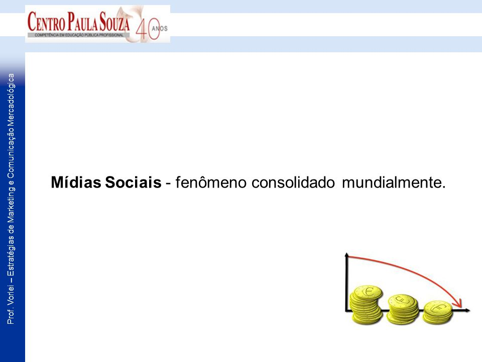 Mídias Sociais - fenômeno consolidado mundialmente.
