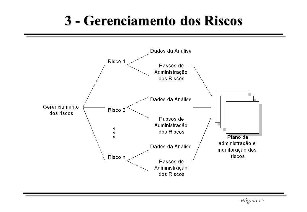 3 - Gerenciamento dos Riscos