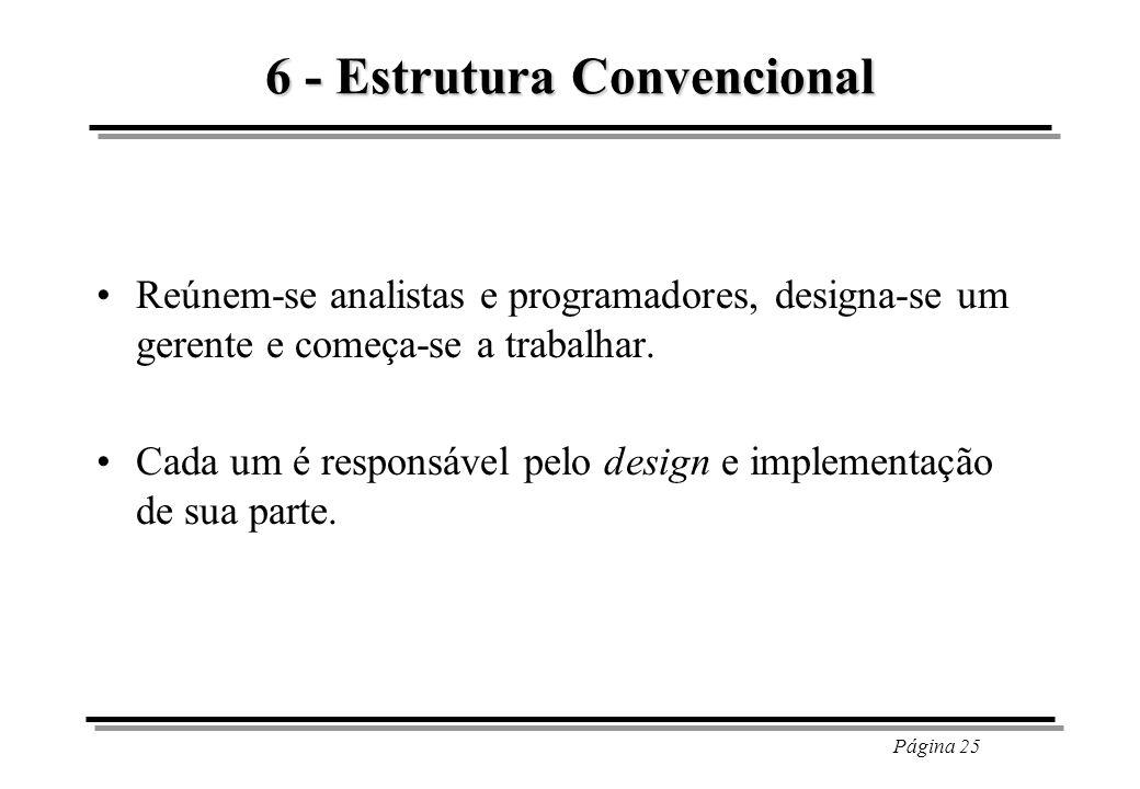 6 - Estrutura Convencional