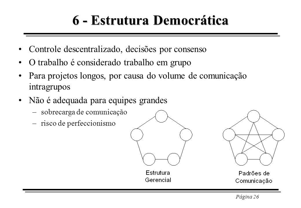 6 - Estrutura Democrática