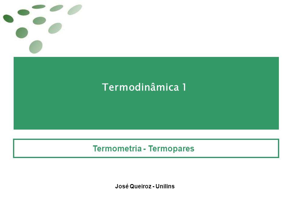 Termometria - Termopares