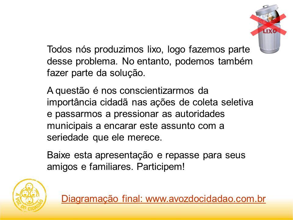 Diagramação final: www.avozdocidadao.com.br