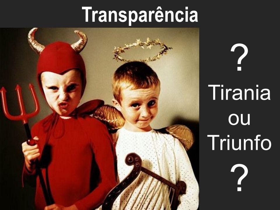 Transparência ECO-ECOSYSTEM Tirania ou Triunfo