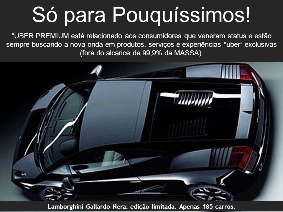 Lamborghini Gallardo Nera: edição limitada. Apenas 185 carros.