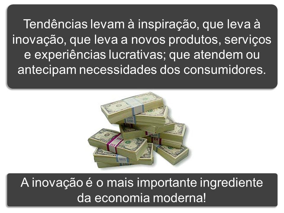 A inovação é o mais importante ingrediente