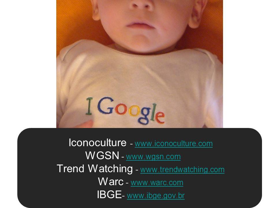 Iconoculture - www. iconoculture. com WGSN - www. wgsn. com