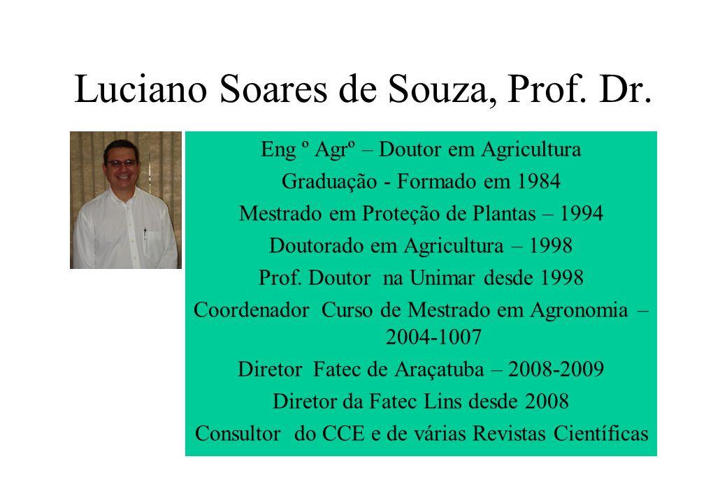 Luciano Soares de Souza, Prof. Dr.
