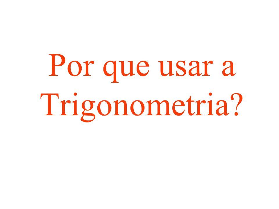 Por que usar a Trigonometria