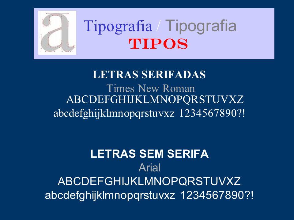 Tipografia / Tipografia TIPOS
