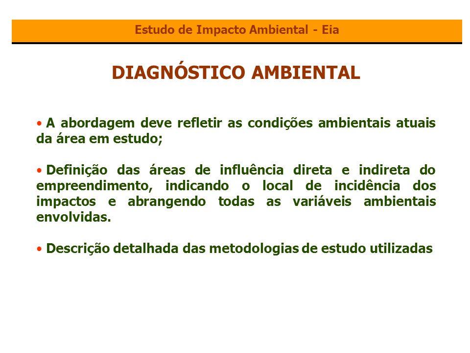 Estudo de Impacto Ambiental - Eia DIAGNÓSTICO AMBIENTAL