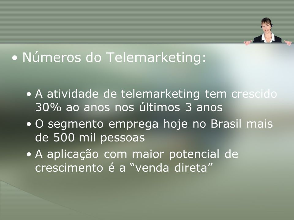 Números do Telemarketing: