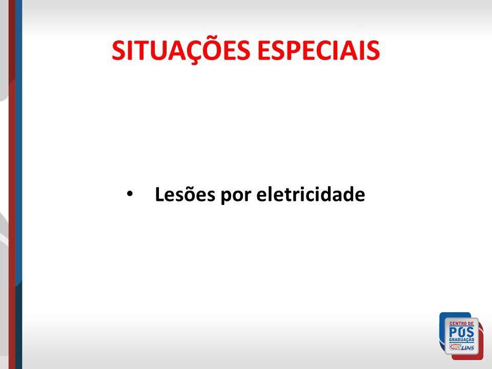 Lesões por eletricidade