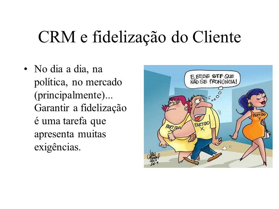 CRM e fidelização do Cliente
