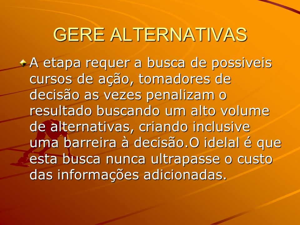 GERE ALTERNATIVAS