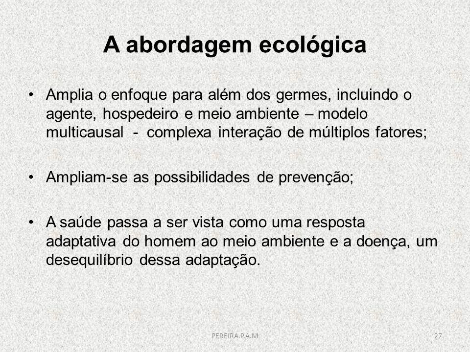A abordagem ecológica