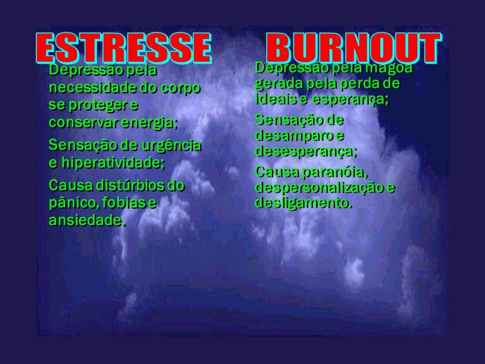 ESTRESSE BURNOUT.
