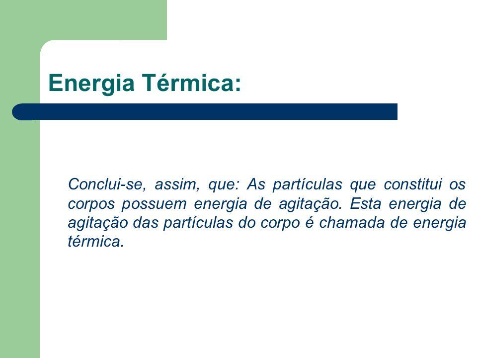 Energia Térmica: