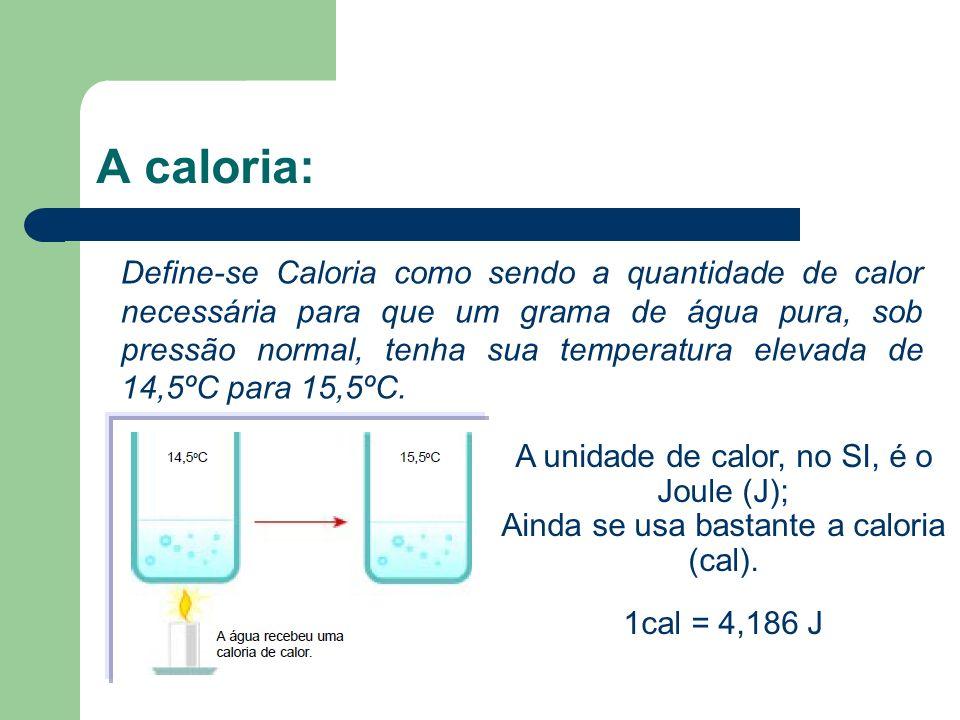 A caloria: