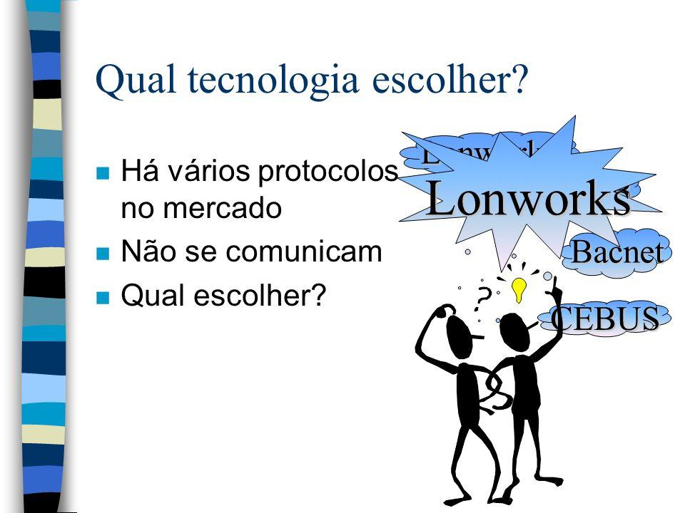 Qual tecnologia escolher