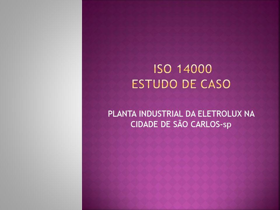 PLANTA INDUSTRIAL DA ELETROLUX NA CIDADE DE SÃO CARLOS-sp