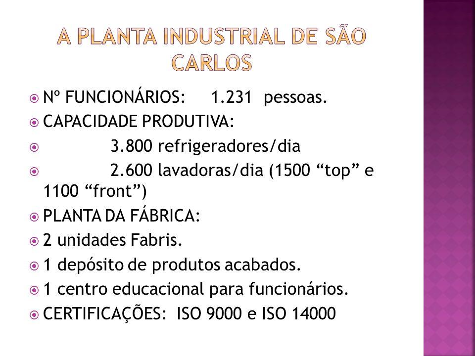 A planta industrial de são carlos