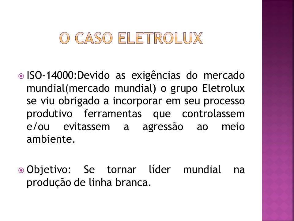 O CASO ELETROLUX