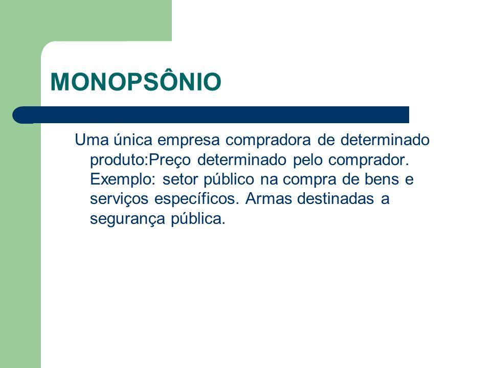 MONOPSÔNIO