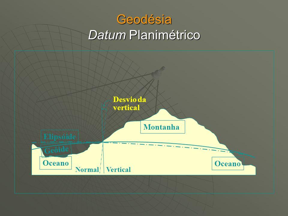Geodésia Datum Planimétrico