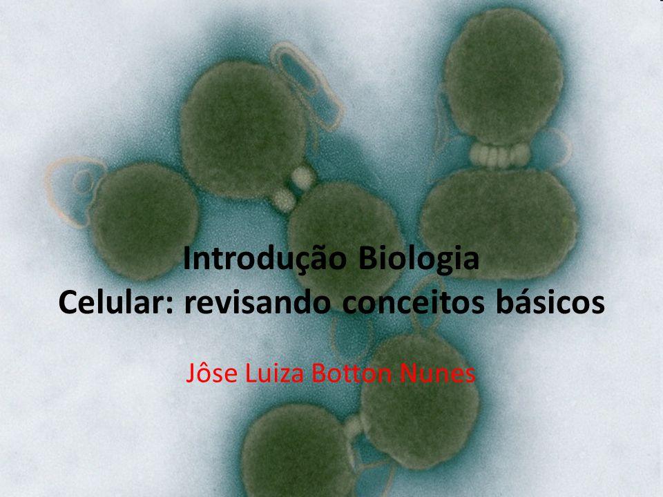 Introdução Biologia Celular: revisando conceitos básicos