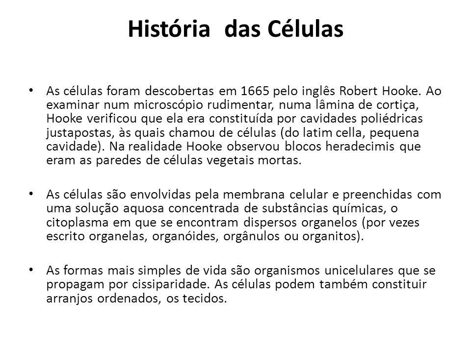 História das Células