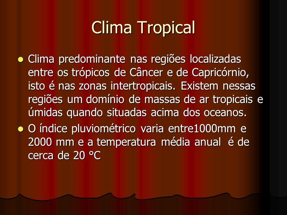 Clima Tropical