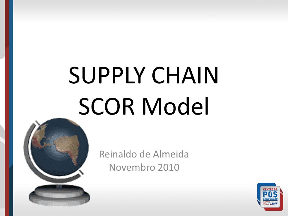 SUPPLY CHAIN SCOR Model