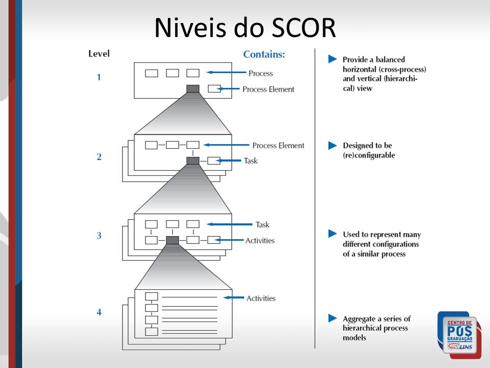 Niveis do SCOR