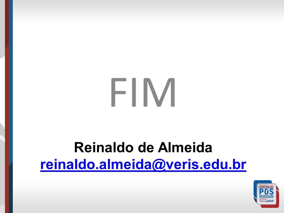 Reinaldo de Almeida reinaldo.almeida@veris.edu.br